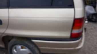 1998 model opel astra f station 1.4 8v kesme sol arka çamurluk