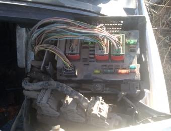 2004 model peugeot 307 1.4 hdi çıkma iç sigorta kutusu