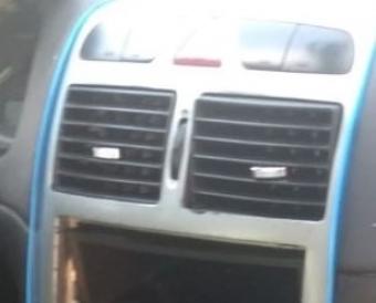 2004 model peugeot 307 1.4 hdi çıkma orta menfezler