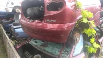 renault megane 2 coupe çıkma arka tampon
