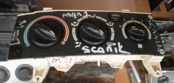renault scenic çıkma klima kontrol paneli